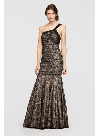 Long Mermaid/ Trumpet One Shoulder Formal Dresses Dress - Night Studio