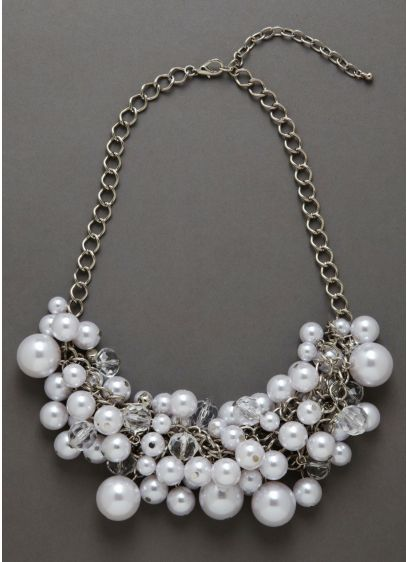 Mixed Baubles Necklace - Wedding Accessories