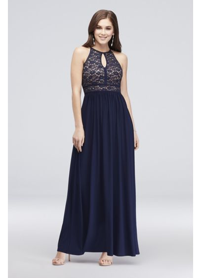 Long A-Line Wedding Dress - Morgan and Co