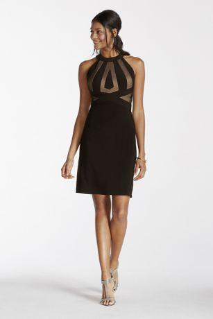 Short Halter Jersey Dress