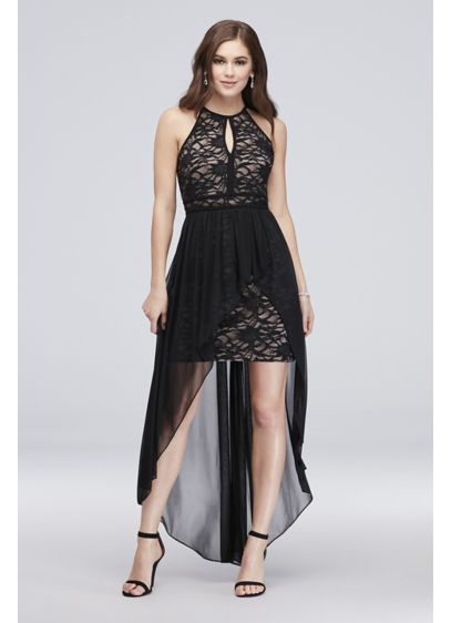 Short A-Line Spaghetti Strap Cocktail and Party Dress - Morgan and Co