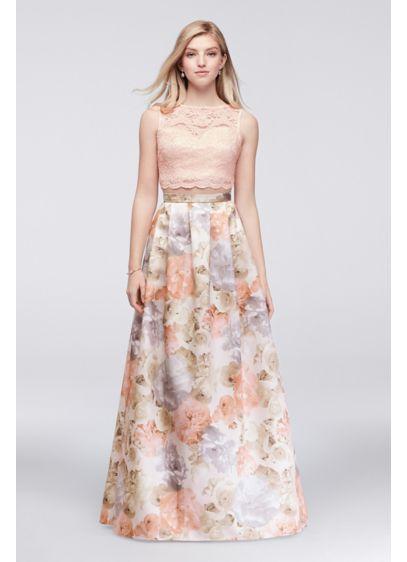 Long Ballgown Tank Prom Dress - Morgan and Co