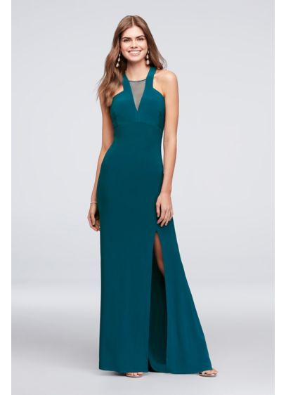 Long Sheath Halter Formal Dresses Dress - Morgan and Co
