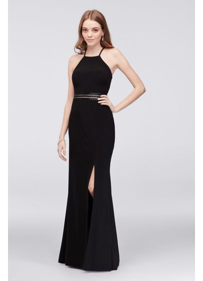 Long Sheath Halter Formal Dresses Dress - Morgan and Co
