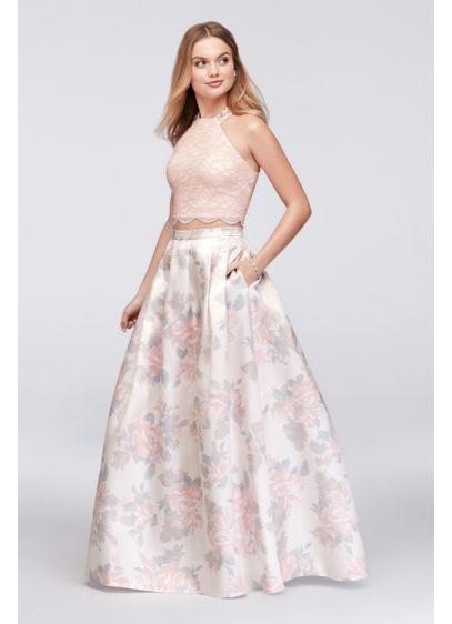 Long Ballgown Halter Formal Dresses Dress - Morgan and Co