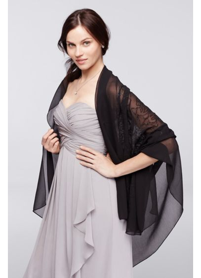 Paisley Swirl Sequin Wrap - Wedding Accessories