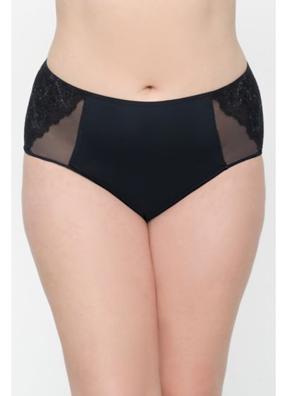 Curvy Couture Embroidered Panty - Wedding Accessories