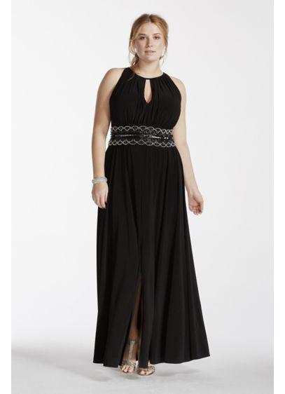 Long A-Line Halter Formal Dresses Dress -