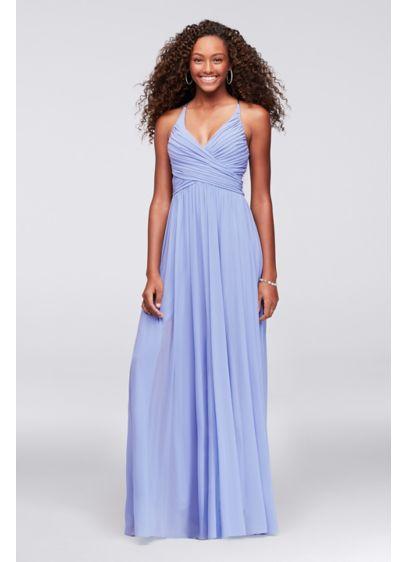 Long A-Line Spaghetti Strap Formal Dresses Dress -
