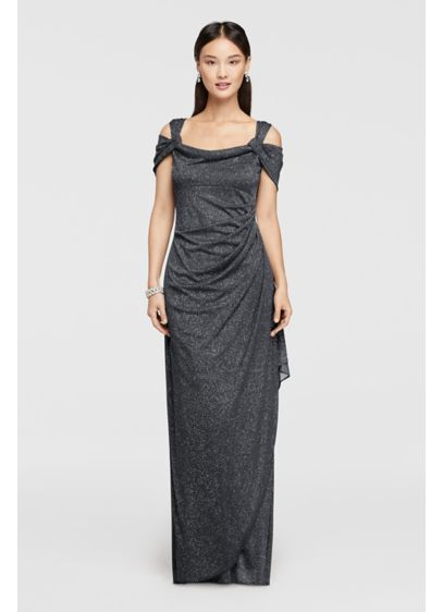 Long Sheath Cap Sleeves Formal Dresses Dress - Alex Evenings