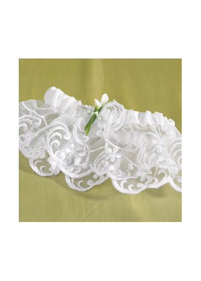 Bridal Beauty Calla Lily Bridal Garter 1338