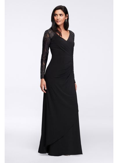 Long Sheath Long Sleeves Formal Dresses Dress - Alex Evenings