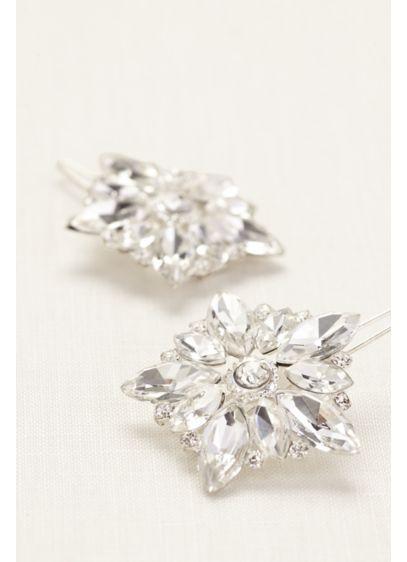 Set of 2 Starburst Hair Pins - Wedding Accessories