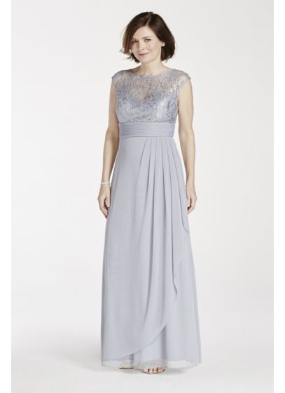 Long Green Soft & Flowy Patra Bridesmaid Dress