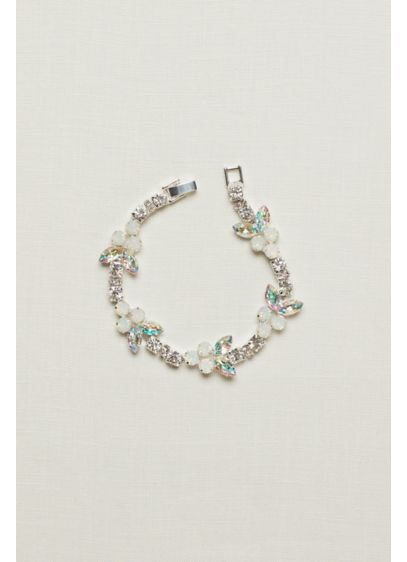 Five Station Clasp Bracelet - Wedding Accessories