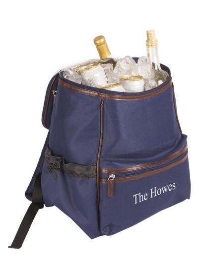 Personalized Insulated Backpack Cooler - Wedding Gifts & Decorations