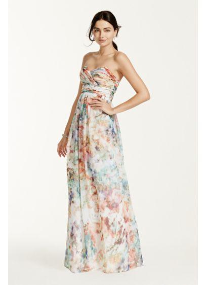 Long Sheath Strapless Prom Dress - Aidan Maddox