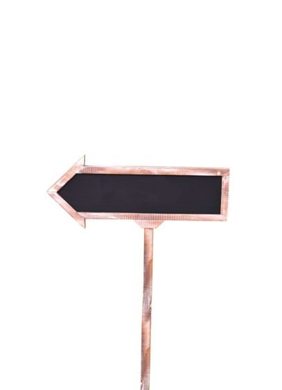 Large Chalkboard Arrow Sign - Wedding Gifts & Decorations