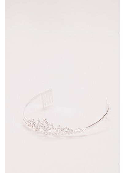 Flower Girl Tiara with Scrolling Crystals - Wedding Accessories