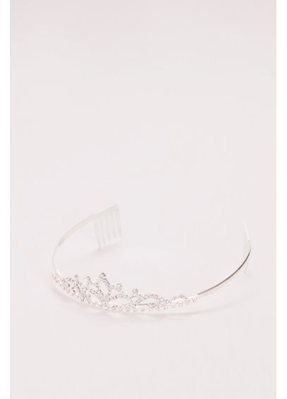 Flower Girl Tiara with Scrolling Crystals 145478T