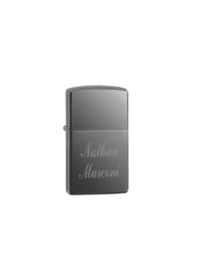 Personalized Black Ice Zippo Lighter - Wedding Gifts & Decorations