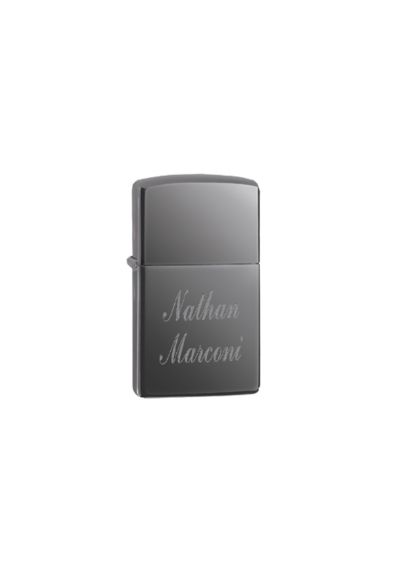 Personalized Black Ice Zippo Lighter 150