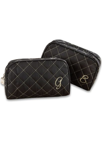Personalized Quilted Make-Up Bag 15012