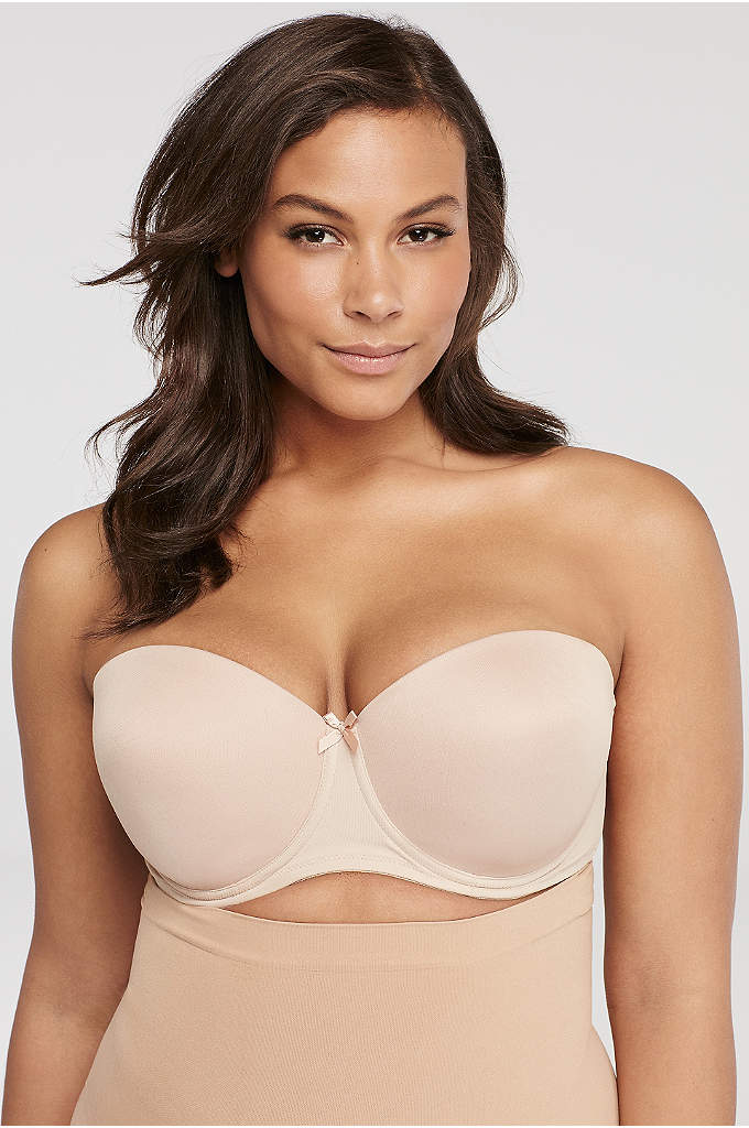 Va Bien Ultra-Lift Perfect Strapless Bra - This strapless bra won't fall down and is