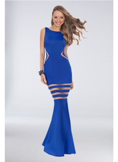 Long Mermaid/ Trumpet Tank Formal Dresses Dress - Terani Couture