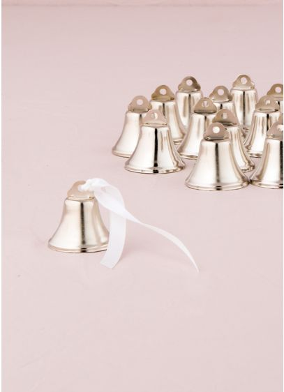 Mini Wedding Bells Pack of 24 - Wedding Gifts & Decorations