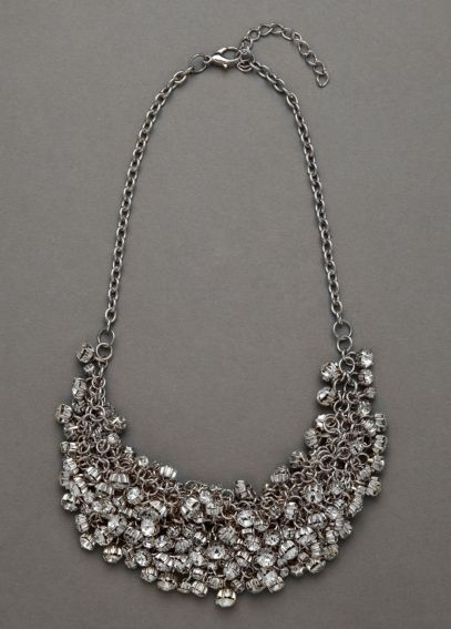 Crystal Cluster Necklace 1708432