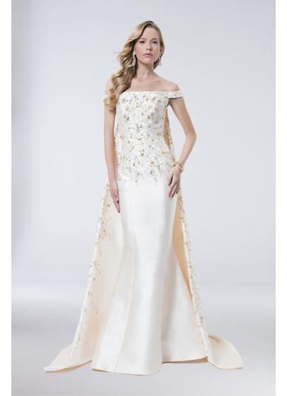 Long Mermaid/ Trumpet Off the Shoulder Formal Dresses Dress - Terani Couture