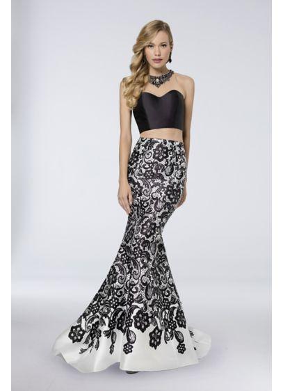 Long Mermaid/ Trumpet Strapless Formal Dresses Dress - Terani Couture