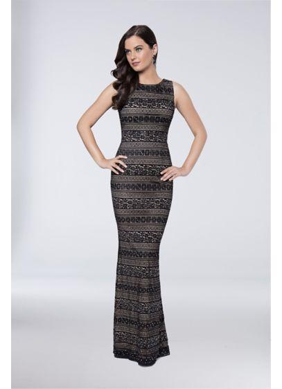 Long Sheath Wedding Dress - Terani Couture