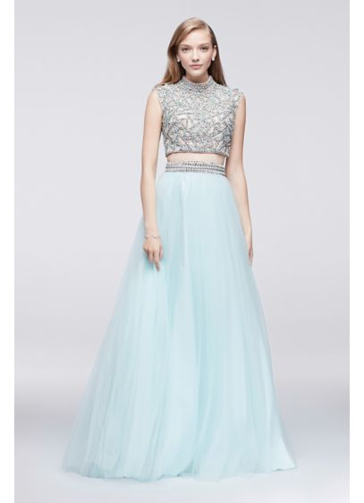 Long Ballgown Cap Sleeves Formal Dresses Dress - Glamour