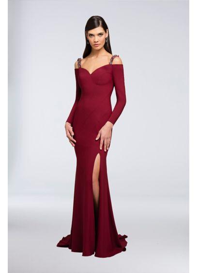 Long Mermaid/ Trumpet Formal Wedding Dress - Terani Couture