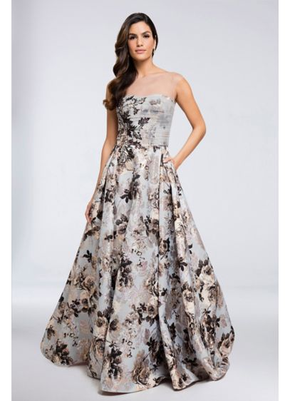 Long Ballgown Tank Formal Dresses Dress - Terani Couture