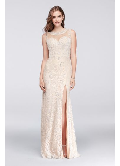 Long A-Line Wedding Dress - Sean Collections