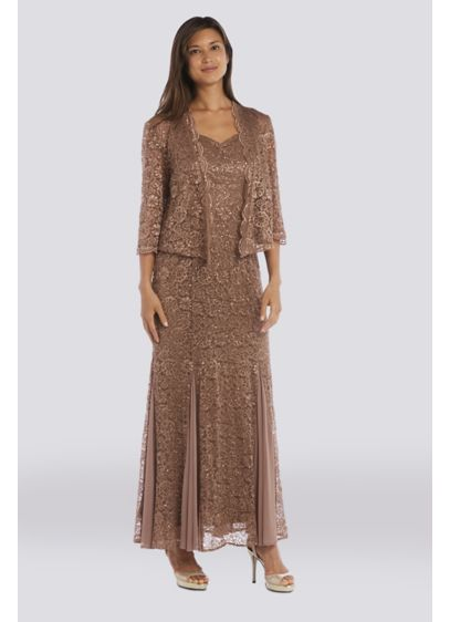 Long 0 Jacket Formal Dresses Dress - RM Richards
