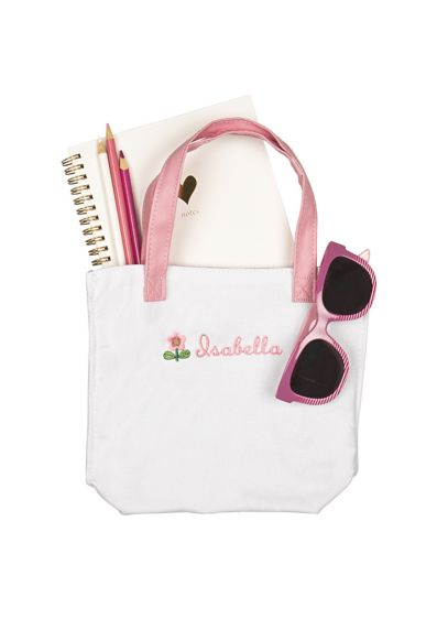 Personalized Flower Girl Mini Tote Bag - Wedding Gifts & Decorations