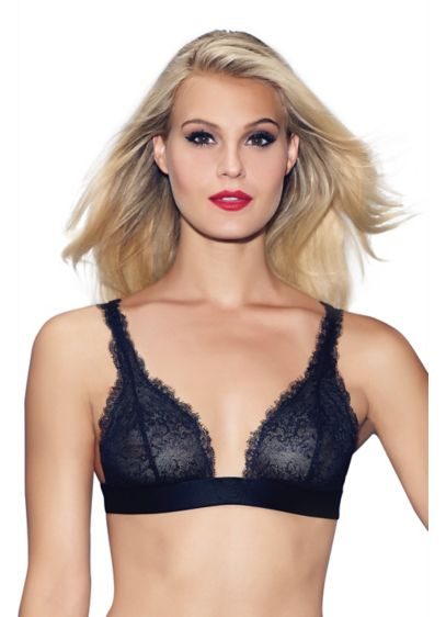 Jezebel Pandora Chantilly Lace Triangle Bralette - Wedding Gifts & Decorations