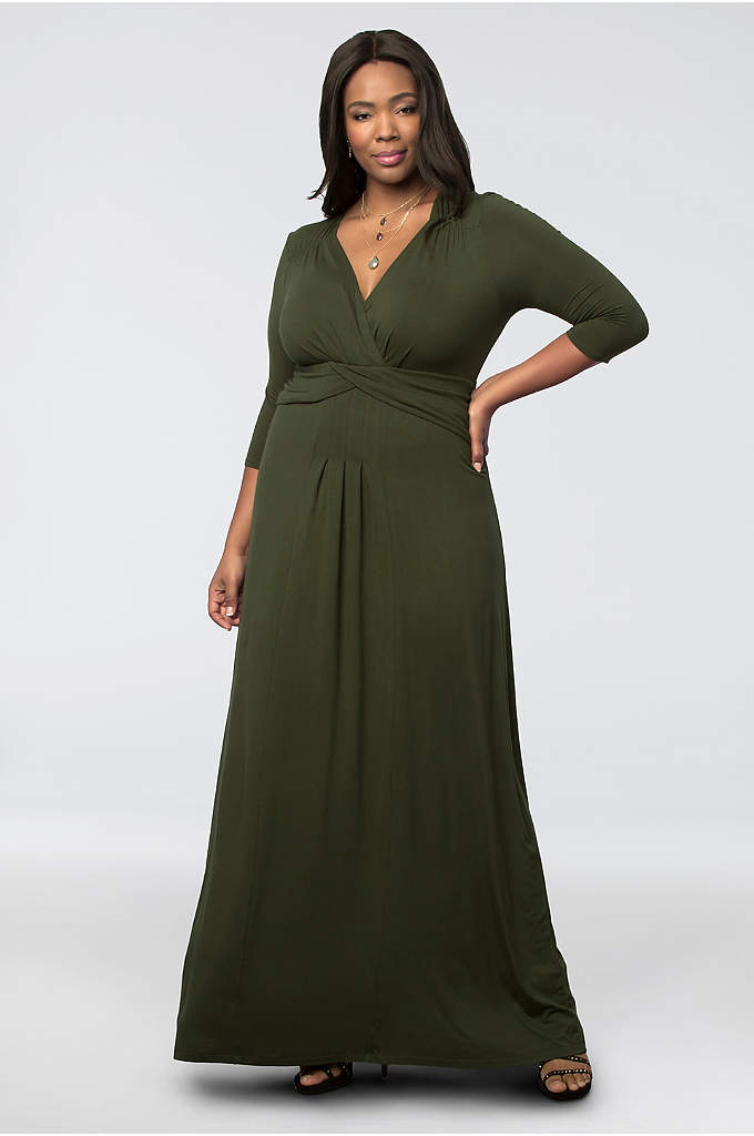 Desert Rain Maxi Dress - Crafted of soft jersey, this maxi dress drapes