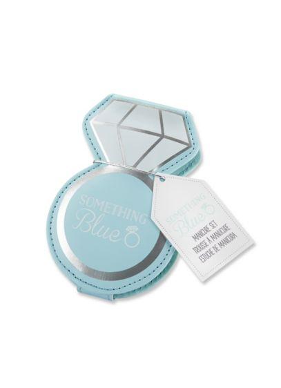 Something Blue Diamond Ring Manicure Set - Wedding Gifts & Decorations
