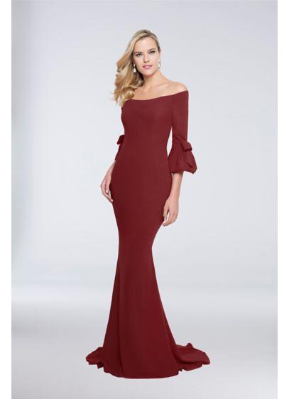 Long Mermaid/ Trumpet Wedding Dress - Terani Couture