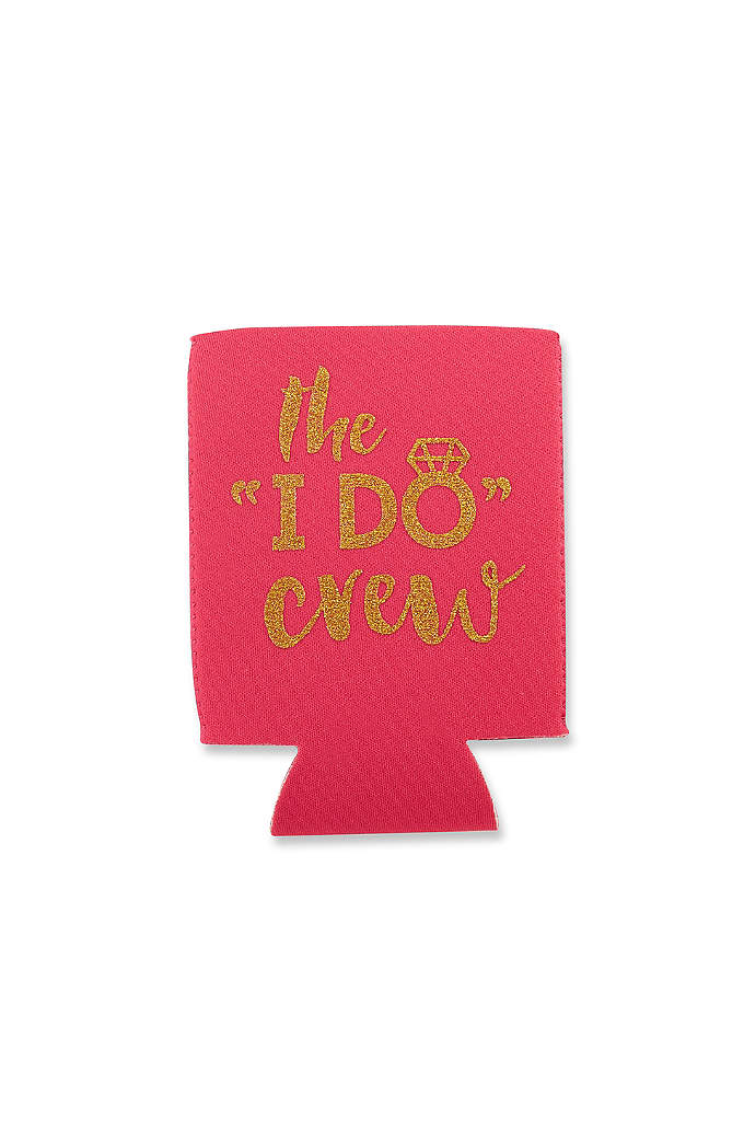 I Do Crew Insulated Drink Sleeve Set of - Celebrate your I DO's with your crew and