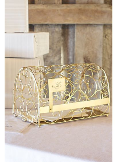 Personalized Monogram Gift Card Mailbox Holder - Wedding Gifts & Decorations