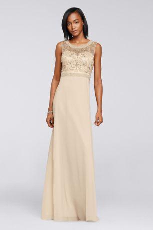 Champagne Flowy Dress