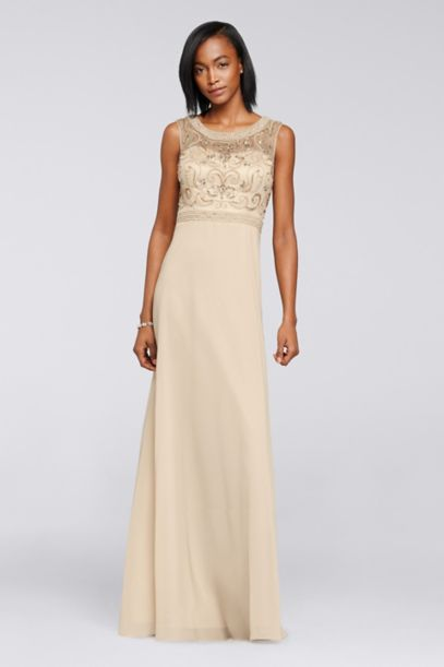 Champagne Formal & Evening Dresses | David's Bridal