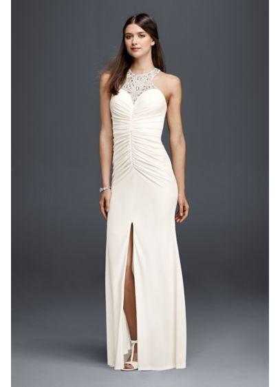 Long Sheath Romantic Wedding Dress - DB Studio