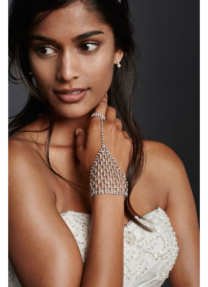 Crystal Bling Hand Jewelry - Wedding Accessories